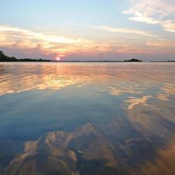 Kleuren in water en lucht......
