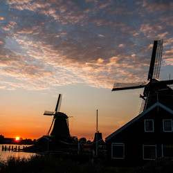 Zaanse sunset