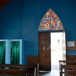 blue church, Andasibe