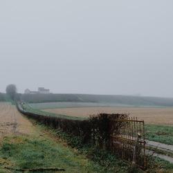 mistig Zuid-Limburg