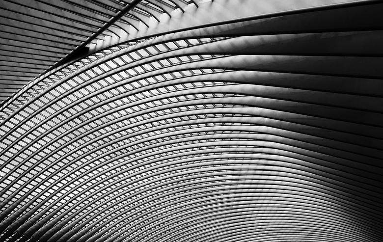 light and shadow - Begin van dit jaar naar station Guillemins in Luik (België) geweest. Heerlijk om te doen. Nu de winter aanbreekt wil ik mij weer me