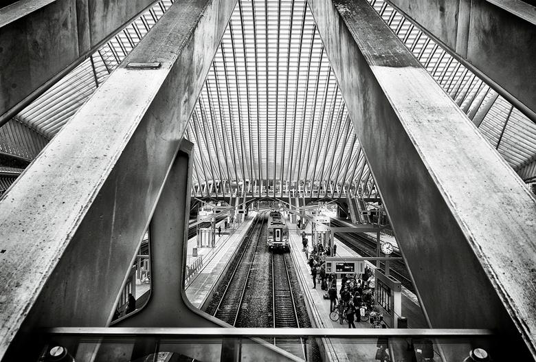 Bewerking - Station Guillemins Luik