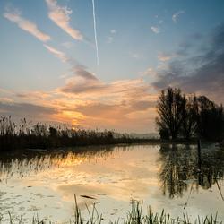 zonsopkomst spiegeling