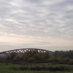 nieuwe spoorbrug over de ijssel