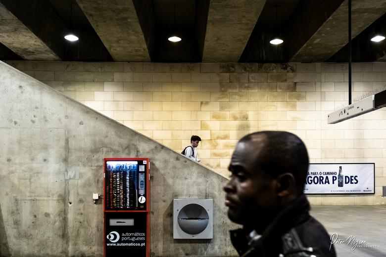 Lissabon metromannen -
