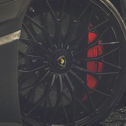 Wheel on track