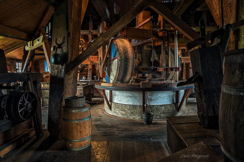 Binnenkant molen