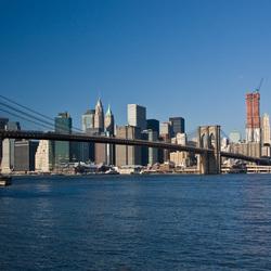 Brooklyn Bridge NYC overdag