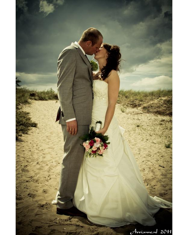Bruiloft 7-7-11 - Bruidsreportage bij de duinen van Rockanje/hellevoetsluis