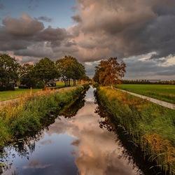 Zonsondergang Giethoorn