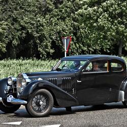Bugatti Tipo 57 Ventoux Coach (quatre places deux portes) 1937