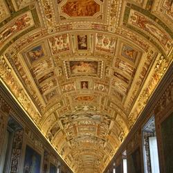 Vaticaanse plafondschildering