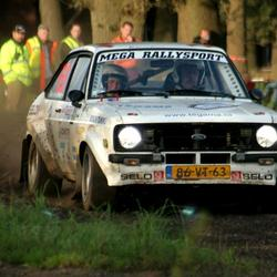 Rally Escort in actie