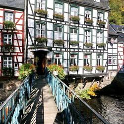 Monschau in de Eifel.