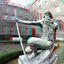 Neptunus Stadhuis Coolsingel Rotterdam 3D