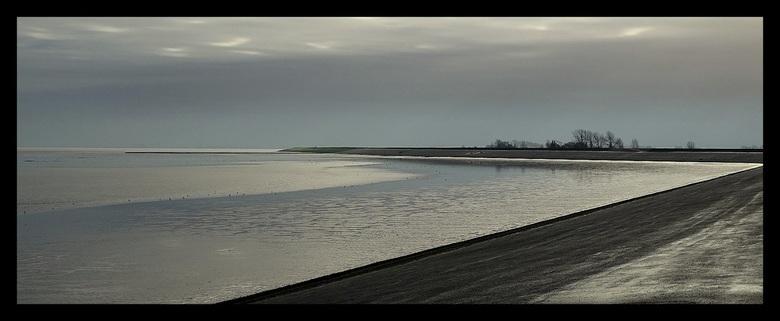 Waterland - Tijdens afgaand water.