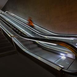 ghost on the escalator