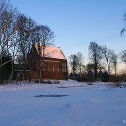 Kasteel Horn in wintertooi