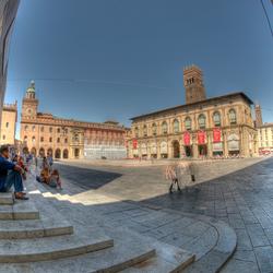 Piazza majore Bologna