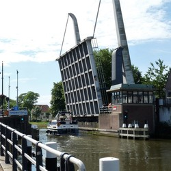 P1450948 Zomers Delft 2017 nr2 Koepoortbrug Oostsingel 6juli 2017
