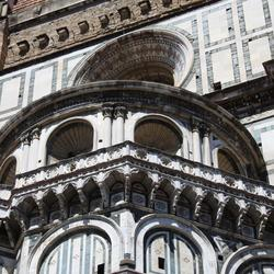 Detailfoto dom van Firenze