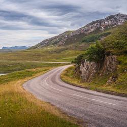 Schotland, zo maar een weg