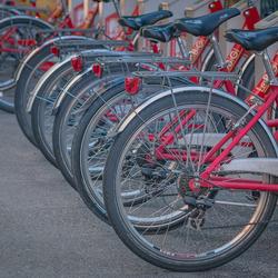 Bikes in Bergamo