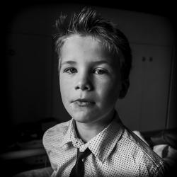 Portret van kind.