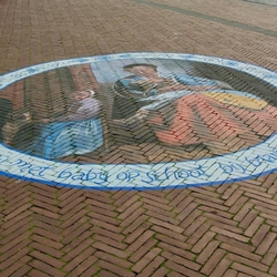Straat expositie Pieter Hoogh part 4
