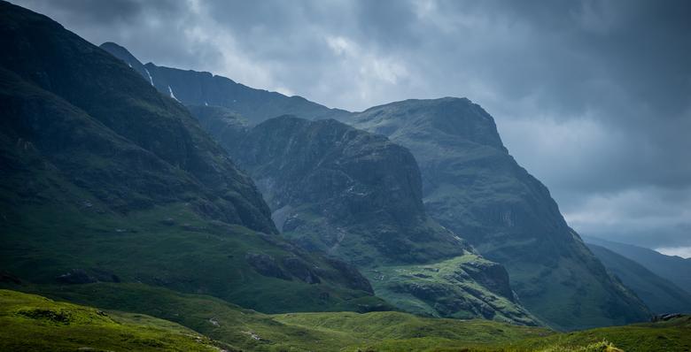 Three Mountains - Glencoe, Schotland