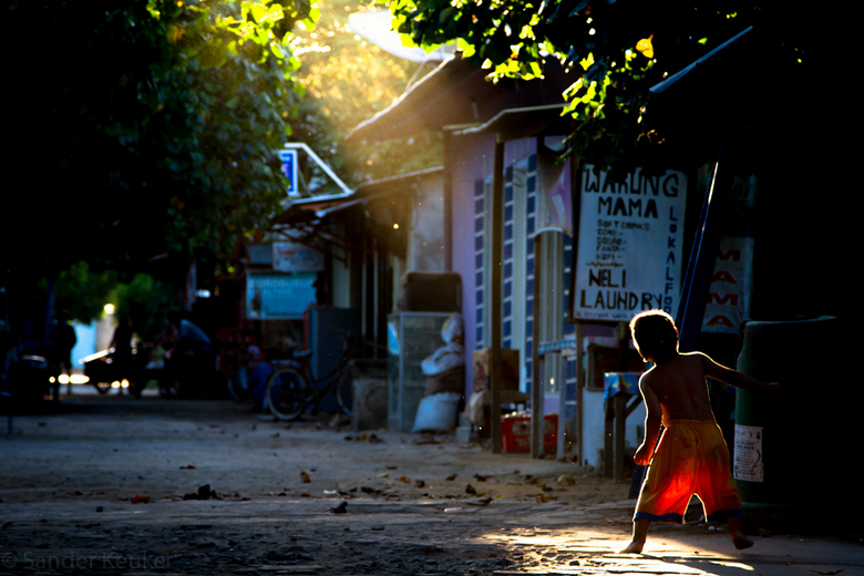 Little boy - Indonesie, Lombok, Gili Trawangan