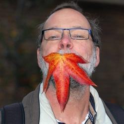 mijn vader heeft een bladtje in zijn mond