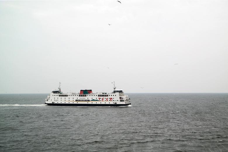 Teso boot - De boot tussen Texel en Den Helder