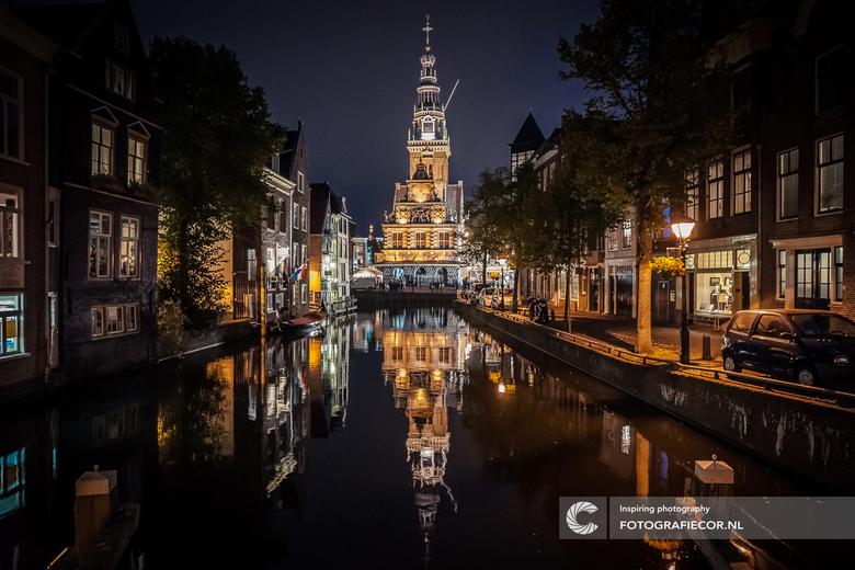 In de straten van Alkmaar
