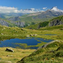 Berglandschap Col de la Croix-de-Fer