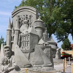 zandsculpturen Terherne