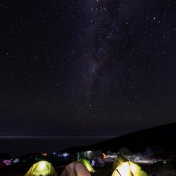 Kamperen onder de Melkweg