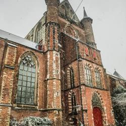 eenzaam in de sneeuw