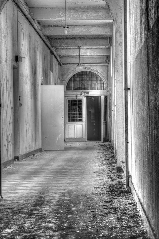 Verlaten gang - Sint-Anna Klooster
