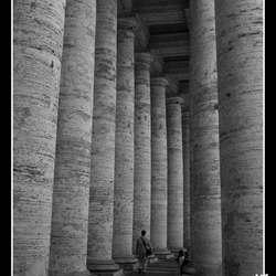 Zuilen St. Pieter, Rome