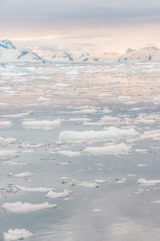 Magisch Antarctica - Het was een magische avond in Antarctica.
