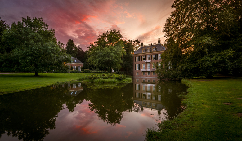Sunset at Castle Zijpendaal