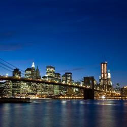 Brooklyn Bridge NYC sunset