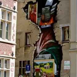muurschildering gent