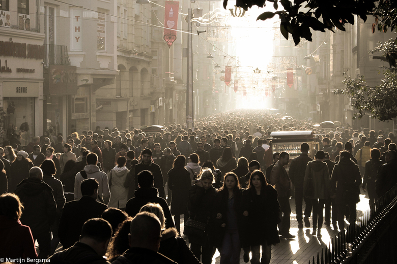 Istanbul - Lopend naar het licht