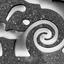 Fibonacci in gevel, vrije expressie