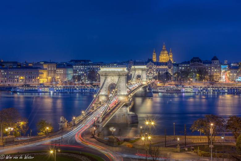 De kettingbrug in Boudapest.