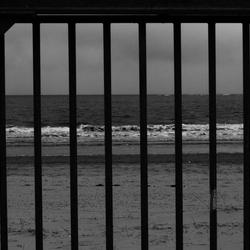 Gevangene van de zee!