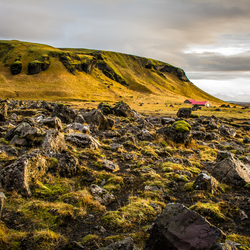 on the road, iceland