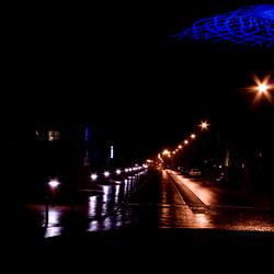 Veendam bij nacht